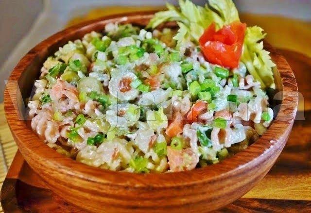 Salada de Macarrão ~ Vegana #magrices