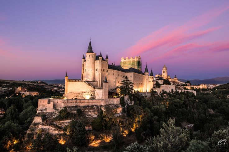 Segovia Alcazar, Spain