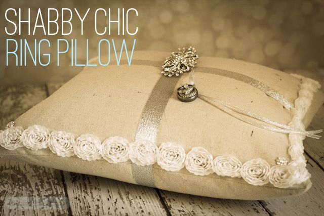 Shabby Chic Pillows Diy : 128 best images about Weddings - B/P - Ring Bearer on Pinterest