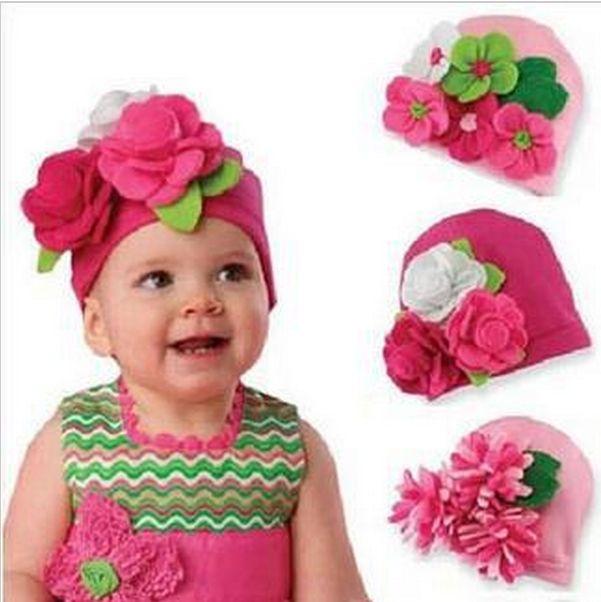 Девочка Малыш Шапки Моды Прекрасные Милые Шляпы Шлем Зимы младенца Головной Убор Дети подарочные HT09 купить на AliExpress