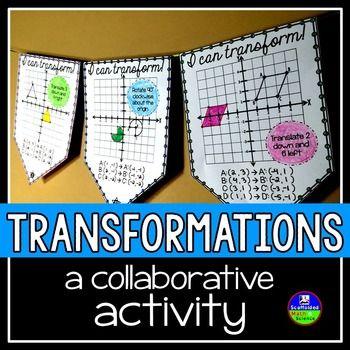 Geometric Transformations Pennant                                                                                                                                                                                 More