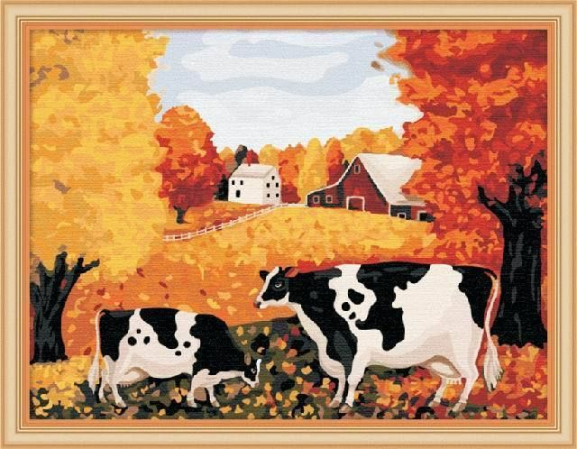Paint by Number kit 40x50cm (16x20'') Golden Farm DIY RH7184 #Jiacai
