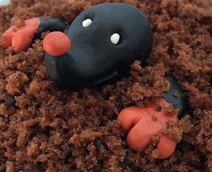 Maulwurf kuchen kleine form