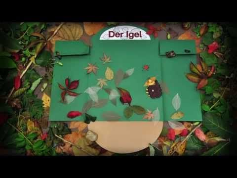 Igel Lapbook - YouTube