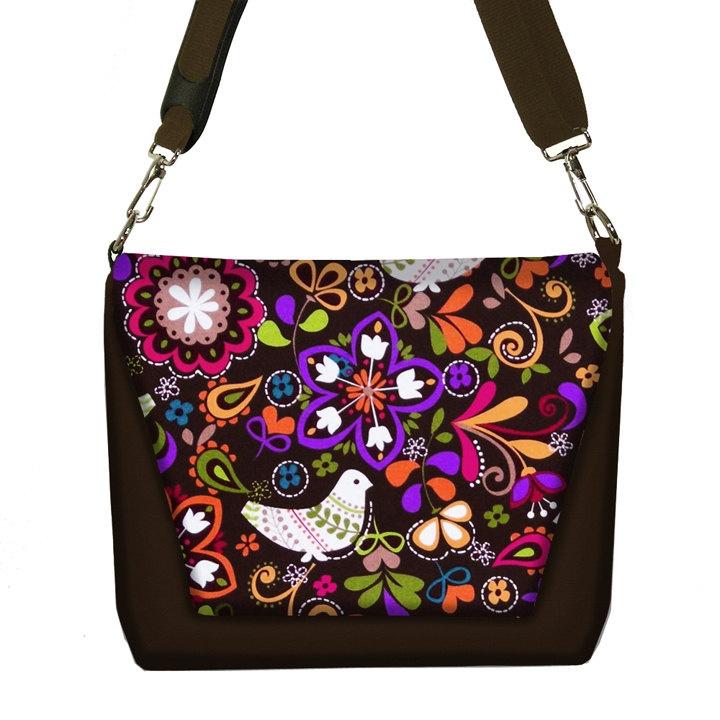 Popular Womens Dslr Camera Bag Purse Asian Plum Blossom Messenger Bag SLR