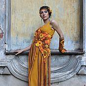 """Одежда ручной работы. Ярмарка Мастеров - ручная работа Платье """"Невеста из Чикаго"""" Фриформ. Авторское вязание. Handmade."""