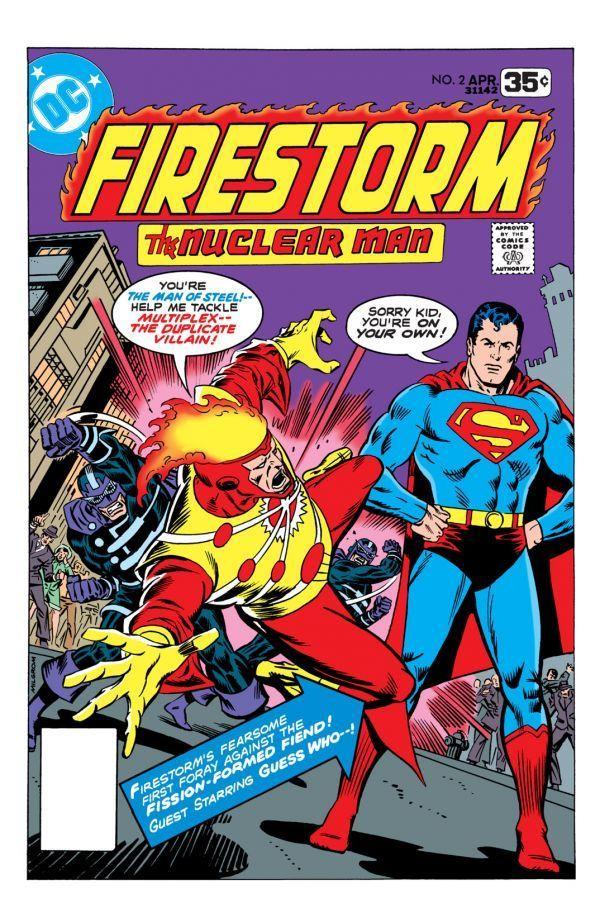 Firestorm The Nuclear Man 1978 2 Comic Books Vintage Comic Books Classic Comic Books