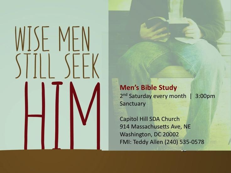 Working on saturday bible study