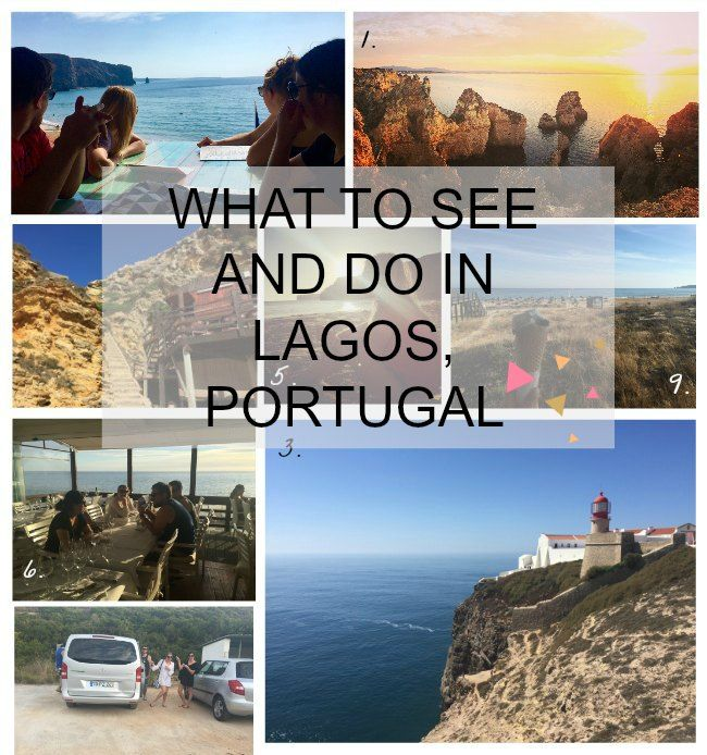 Recommendations for things to do, see and eat in Lagos, Sagres and the Algarve in Portugal