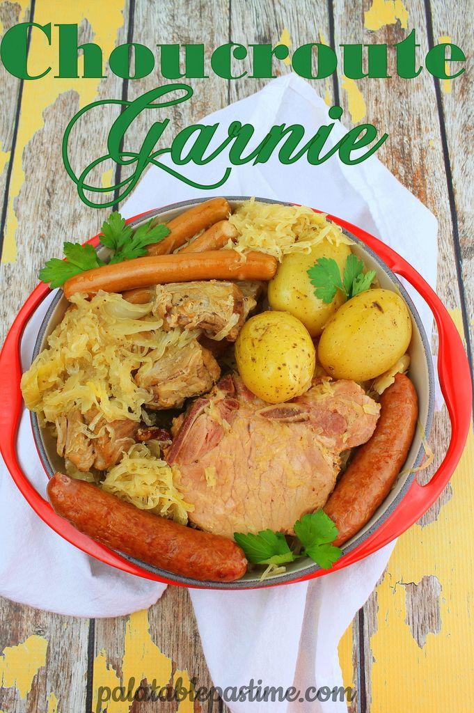 1000 id es sur le th me choucroute garnie sur pinterest - Cuisiner choucroute crue ...