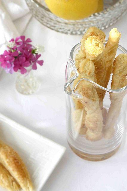 Lemon Sugar Puff Pastry Sticks Recipe by CookinCanuck, via Flickr