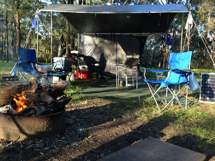 #EZIKIT set up at #GentleMansHalt for an #overnight #camping #adventure from the #TarPOLEInRange with the #CampKingsCrew