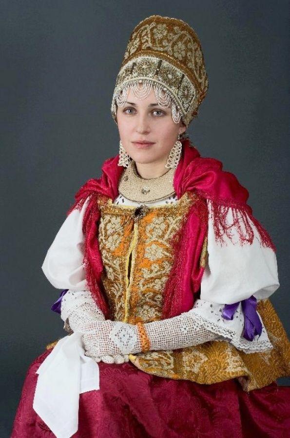 Russian Women Festive Dress