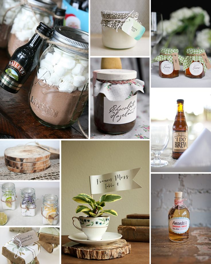 Handmade Wedding Favors, eco-friendly green wedding ideas!
