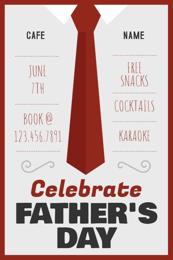 Father S Day Event Invitation Poster Template Fathers Day Poster Event Invitation Event Poster Template