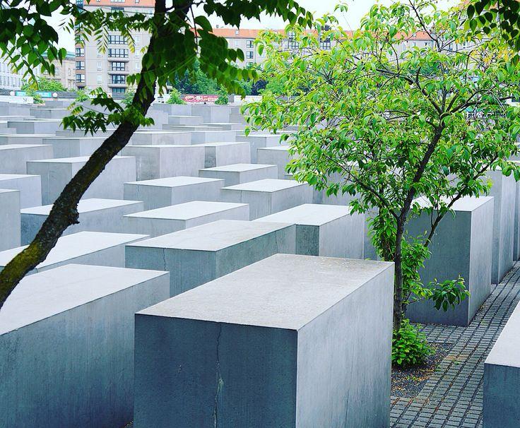 Memorial to the murdered jews of europe. Berlin