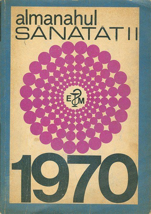 Coperta Almanahul Sanatatii 1970