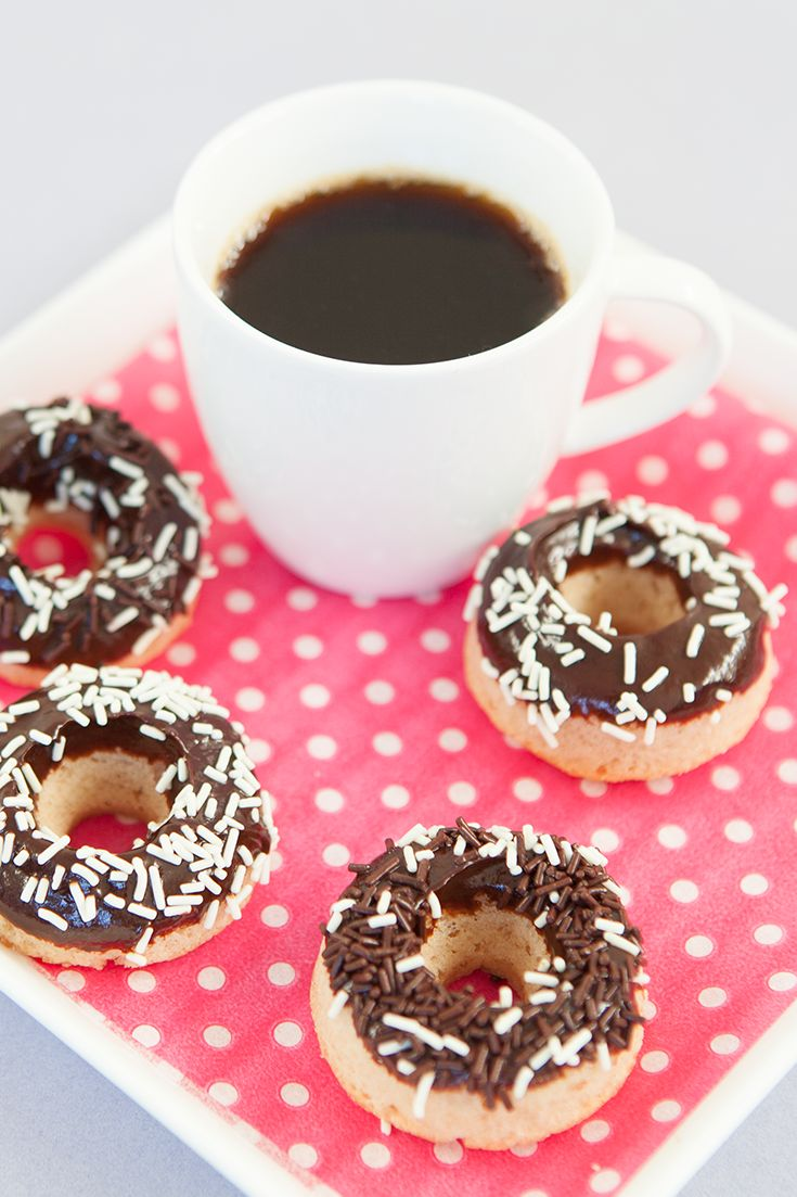 #Epicure Chocolate Sprinkled Mini Doughnuts