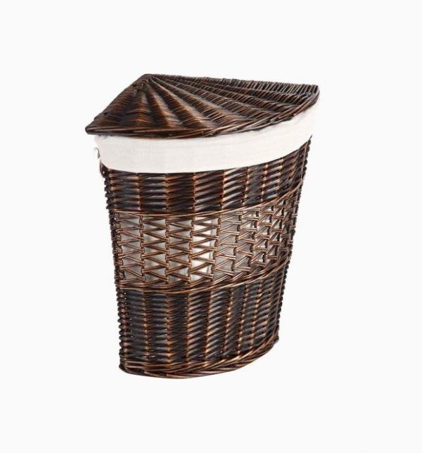 50 Unique Laundry Bags Baskets To Fit Any Theme With Images Wicker Hamper
