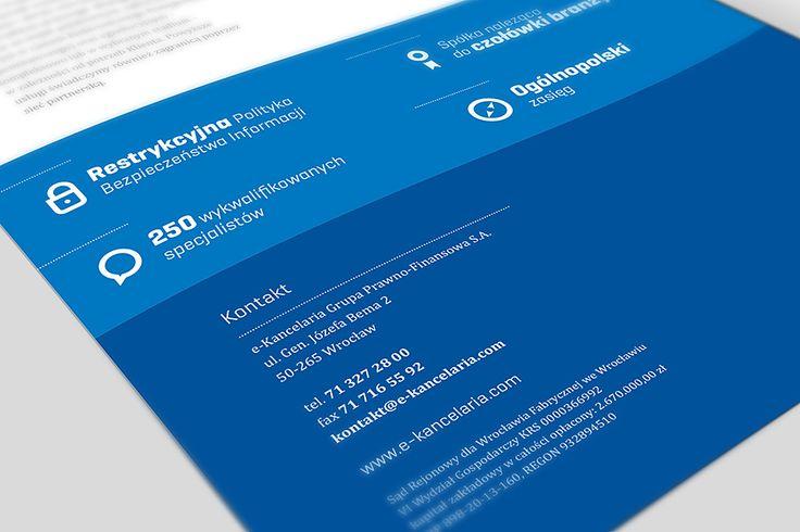 Ekancelaria Brochure Design