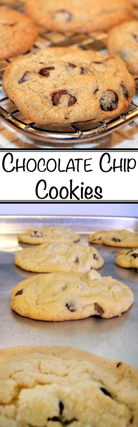 This recipe is derived from the original Toll House chocolate chip cookie from Nestle.