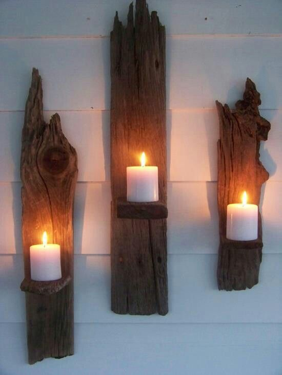 drift wood - this would look great on the porch