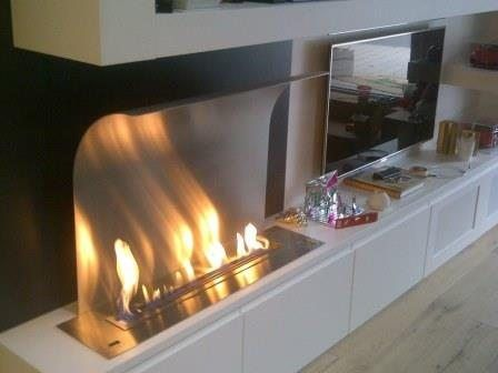 Ethanol Burner Tv Http://www.a Fireplace.com/tv Fireplace/ | TV Fireplace |  Pinterest | Tv Fireplace, Living Rooms And Room