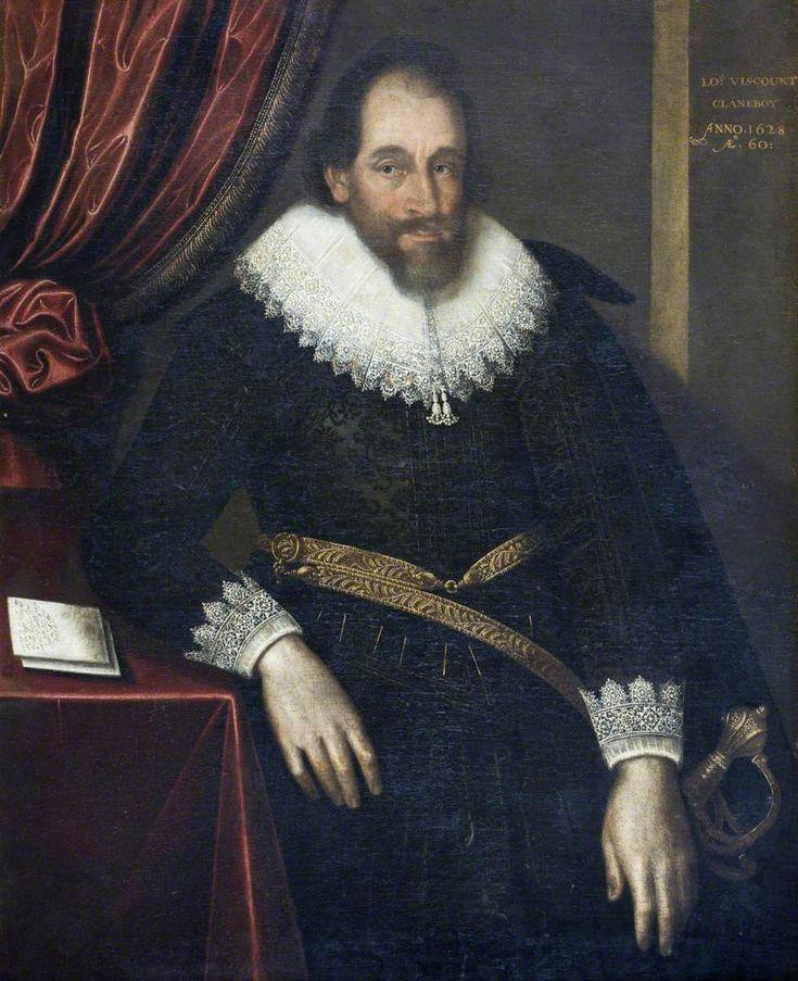 James Hamilton (1559/1560 or 1568–1643), 1st Viscount Clandeboye, Aged 60