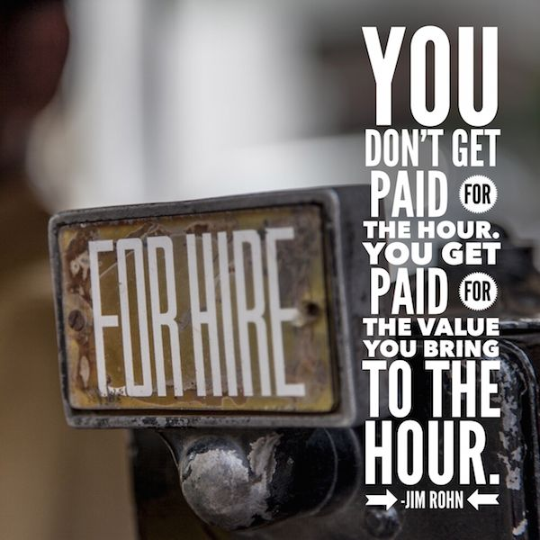 What value do you really bring to your work? - http://ginamilicia.com/2015/04/what-value-do-you-really-bring-to-your-work/