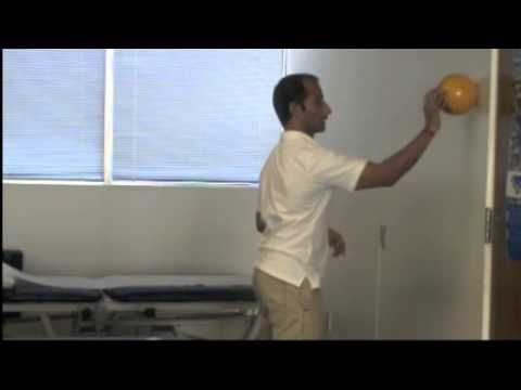 Manu Kalia (Physical Therapist and Clinical Ayurvedic Herbalist) demonstrates exercises for shoulder pain treatments.  http://www.tridoshawellness.com/  http://www.facebook.com/TridoshaWellness    Shoulder Pain Treatments - Shoulder Pain Scapula Exercises  It is essential to build your scapular muscle strength before moving on to rotator cuff muscles. Your shoulder blade muscles are your base and the base has to be strengthened before strengthening the other muscles.