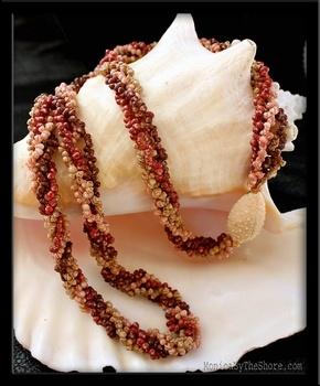 Niihau shell lei ~ heirloom type Hawaiian necklace