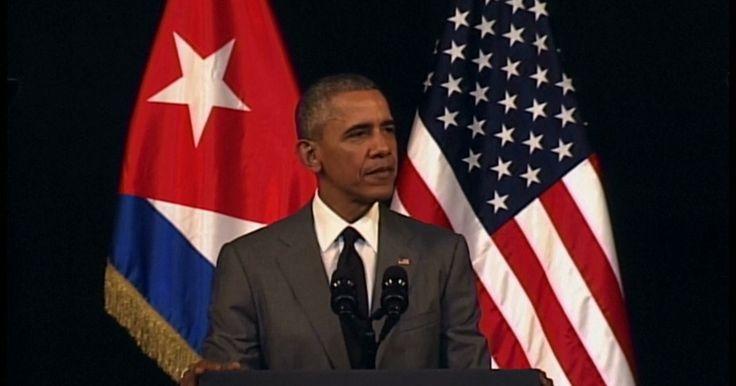 Leia a íntegra do discurso histórico de Obama em Cuba (em inglês)