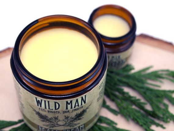 Beard Conditioner Cream Wild Man Beard Softener by WildRoseHerbs, $24.95
