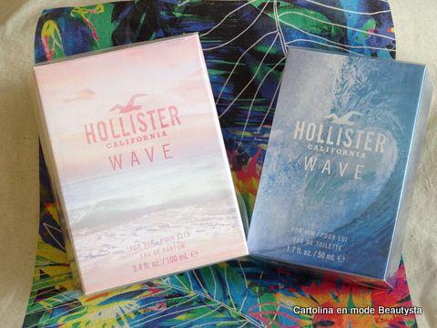 Hollister - Wave pour Elle et Lui  https://cartolinabeautysta.wordpress.com/2016/06/01/les-nouveautes-parfumees-hollister-et-abercrombie-fitch/