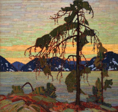 Tom Thomson 1916 - The Jack Pine Oil on Canvas The sky and the rocks and the tree. Genius