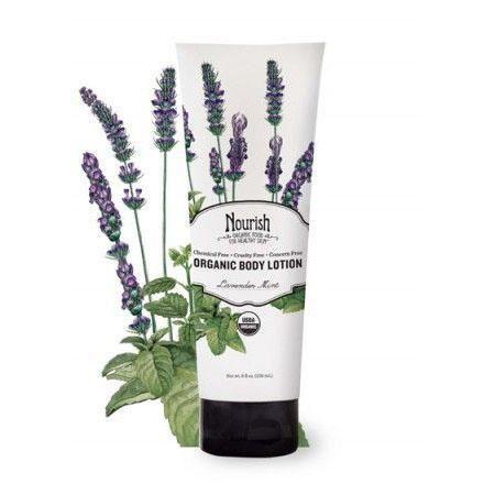 Organic Body Lotion Lavender Mint