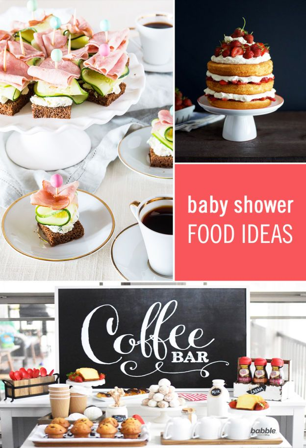 fall bridal shower menu ideas%0A Every baby shower needs the perfect fuel for celebration  which is why  we u    ve rounded up some fun food ideas to make your partyplanning go off  without a