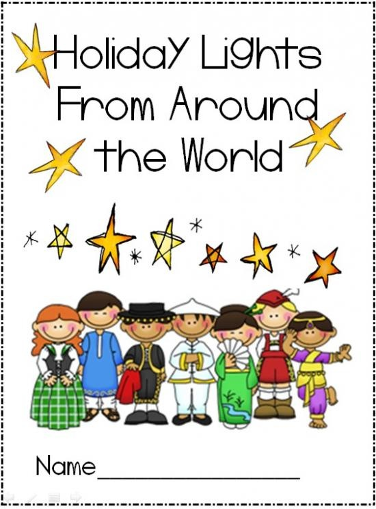 Holiday lights from around the world-  so many wonderful ideas for classroom holiday celebrations