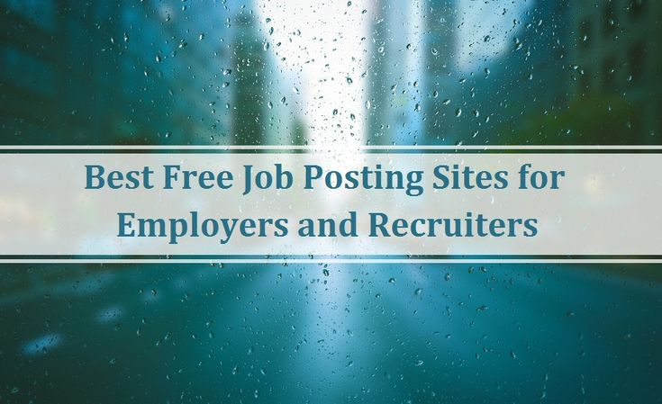 Best Free #Job #Posting #Sites for #Employers and #Recruiters   #career #professional #hiring