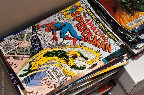 comics, spiderman, and Marvel image