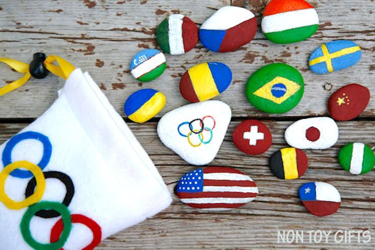 We'll be watching the opening ceremonies in PyeongChang on February 9, and these fun Olympics crafts for kids should help get them excited too!