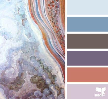 geode tones - kijk voor meer kleur inspiratie ook eens op http://www.wonenonline.nl/interieur-inrichten/interieur-kleur/