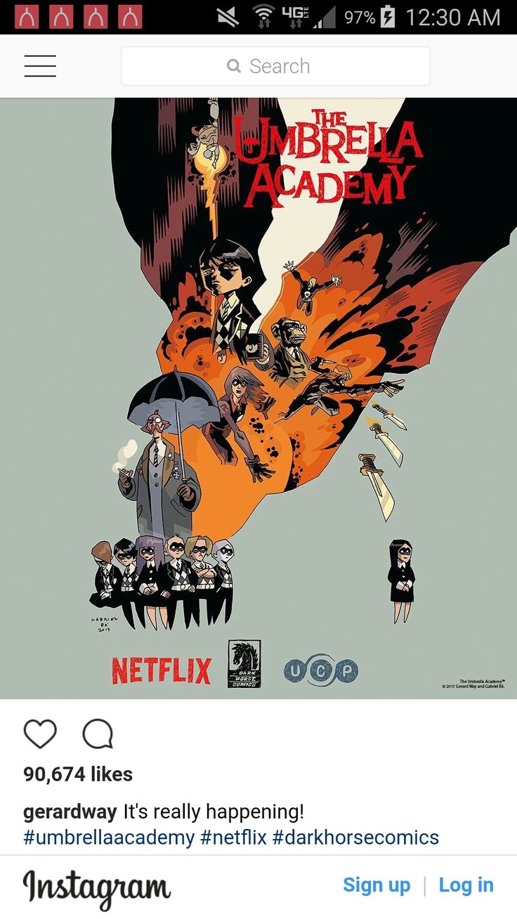 IT'S GOING TO BE ON NETFLIX, GERARD WAY'S COMIC BOOK<<<I KNOW IM SO EXCITED