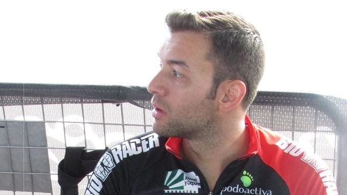 Entrevista realizada por el departamento de prensa del equipo Extremadura Bio Racer a su corredor Domingo Sanchez Mejias velocista del equipo de ciclismo extremeño de ciclismo en pista