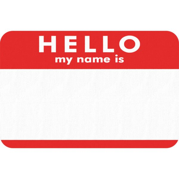 Hello my name is ❤ liked on Polyvore featuring fillers, words, backgrounds, text, quotes, doodles, effect, phrase, borders and saying