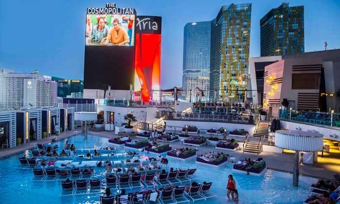 """Dive In Movies featuring Hitch, Mad Max, Father of the Bride, Bull Durham, World War Z, & more - Boulevard Pool at The Cosmopolitan of Las Vegas: Dive In Movies such as """"Hitch,"""" """"Mad Max,"""" """"Bull Durham,"""" """"Father of the Bride,"""" and More (July 24–September 4)"""
