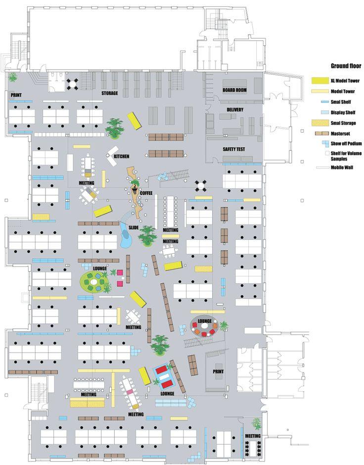 A Look Inside The Lego Design Offices In Denmark Office Floor Plandesign