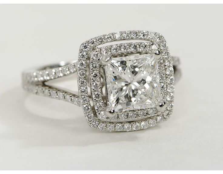 Princess Cut Double Halo I absolutely love mine!!!!