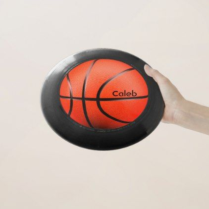 #Personalized Basketball Wham-O Frisbee - #giftideas for #kids #babies #children #gifts #giftidea