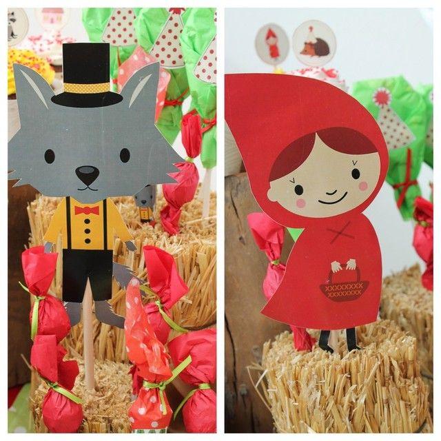 Caperucita Roja / Little red! Delfi